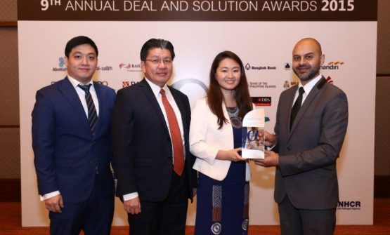 SBS Philippines Named 2015 Best Small Cap Equity Deal of the Year by Alpha Southeast Asia